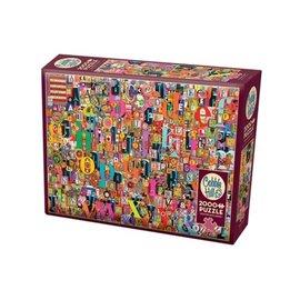 Puzzle: 2000 Shelley's ABC