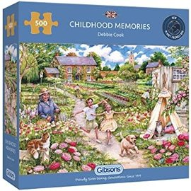 Gibsons Puzzle: 500 Childhood Memories