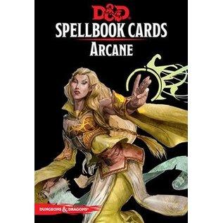 D&D Spellbook Cards: Arcane