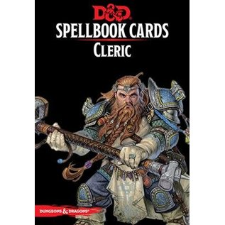 D&D Spellbook Cards: Cleric