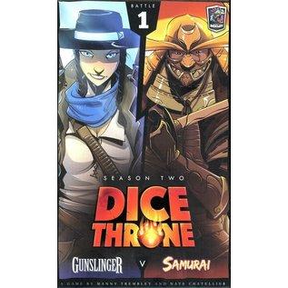 Dice Throne Season Two - Gunslinger vs Samurai