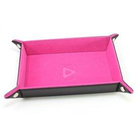 Die Hard Dice Tray: Pink Velvet