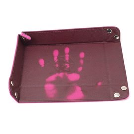 Die Hard Dice Tray: Thermic Pink w/ Pink Velvet