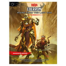 Dungeons & Dragons 5E: Eberron: Rising from the Last War (Retail)