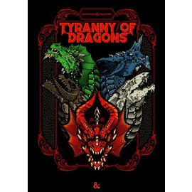 Dungeons & Dragons: Tyranny of Dragons Alternative Cover