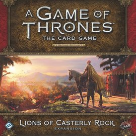 Game of Thrones: The Card Game (Second Edition) - Lions of Casterly Rock