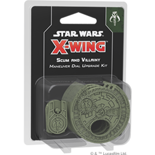 Star Wars: X-Wing 2.0 - Scum Maneuver Dial Upgrade Kit
