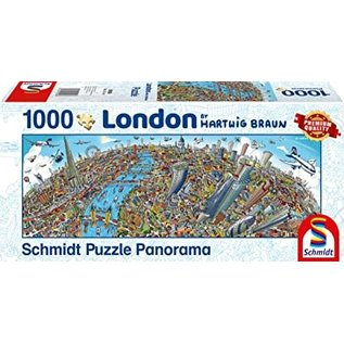 Schmidt Puzzle: 1000 London