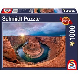 Schmidt Puzzle: 1000 Glen Canyon Horseshoe Bend