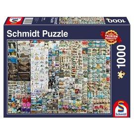 Schmidt Puzzle: 1000 Souvenir Stand