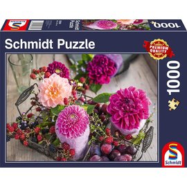 Schmidt Puzzle: 1000 Berries and Flowers