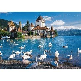 Schmidt Puzzle: 1000 Lakeshore Swans