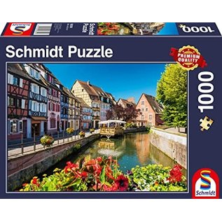 Schmidt Puzzle: 1000 Little Village with Half-timbered Houses