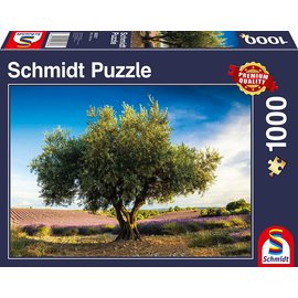 Schmidt Puzzle: 1000 Olive tree in Provence