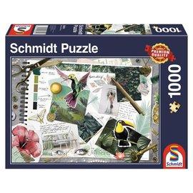 Schmidt Puzzle: 1000 Moodboard
