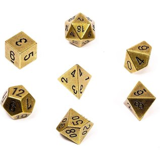 Metal 7-Die Set Old Brass