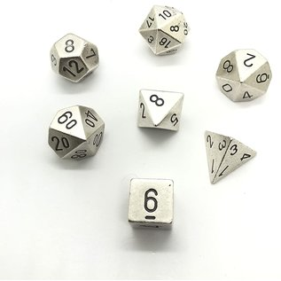 Metal 7-Die Set Silver