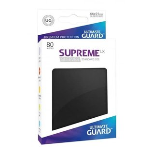 Supreme UX Standard Sleeves - Black
