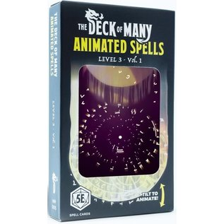 The Deck of Many - Animated Spells: Level 3 A-M