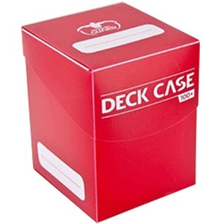 UG DECK CASE STANDARD 100+ Red