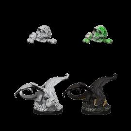 D&D Nolzurs Marvelous Unpainted Miniatures: Wave 10: Black Dragon Wyrmling