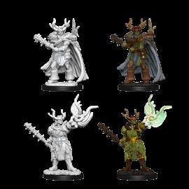 D&D Nolzurs Marvelous Unpainted Miniatures: Wave 10: Male Half-Orc Druid