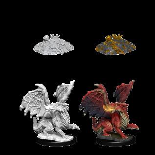 D&D Nolzurs Marvelous Unpainted Miniatures: Wave 10: Red Dragon Wyrmling