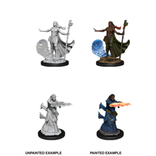 D&D Nolzurs Marvelous Unpainted Miniatures: Wave 11: Female Human Wizard