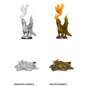 D&D Nolzurs Marvelous Unpainted Miniatures: Wave 11: Gold Dragon Wyrmling & Small Treasure Pile