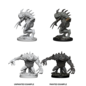 D&D Nolzurs Marvelous Unpainted Miniatures: Wave 5: Grey Slaad & Death Slaad