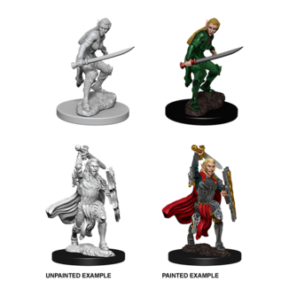 D&D Nolzurs Marvelous Unpainted Miniatures: Wave 6: Elf Female Fighter
