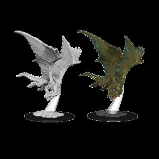 D&D Nolzurs Marvelous Unpainted Miniatures: Wave 9: Young Bronze Dragon
