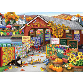 Cobble Hill Puzzle: 500 Harvest Festival