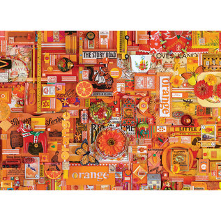 Cobble Hill Puzzle: 1000 Orange