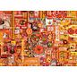 Cobble Hill Puzzle: 1000 Orange