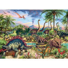 Cobble Hill Puzzle: 350 Prehistoric Party