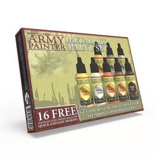 Army Painter: Metallics Paint Set