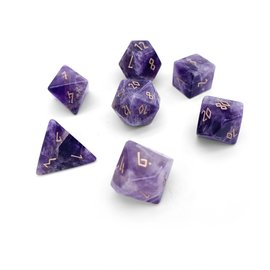 Norse Foundry Gemstone Dice: Amethyst