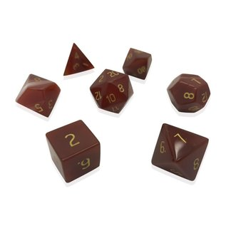 Norse Foundry Gemstone Dice: Carnelian