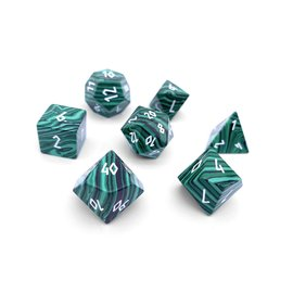 Norse Foundry Gemstone Dice: Malachite