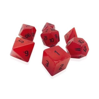 Norse Foundry Gemstone Dice: Red Jade