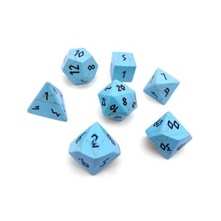 Norse Foundry Gemstone Dice: Turquoise