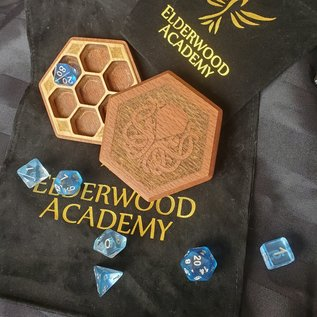 Elderwood Academy Hex Chest Remastered: Cthulhu, Leopardwood