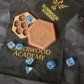 Elderwood Academy Hex Chest Remastered: Phoenix, Bubinga
