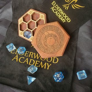 Elderwood Academy Hex Chest Remastered: Prague Clock, Leopardwood