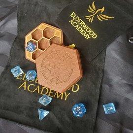 Elderwood Academy Hex Chest Remastered: Spellcircle, Leopardwood