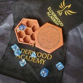 Elderwood Academy Hex Chest: Celtic Knot, Lacewood