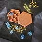 Elderwood Academy Hex Chest: Celtic Knot, Mahogany