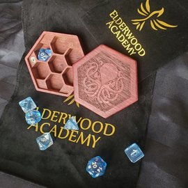 Elderwood Academy Hex Chest: Cthulhu, Purpleheart