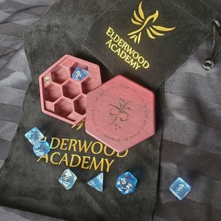 Elderwood Academy Hex Chest: Elvish, Purpleheart